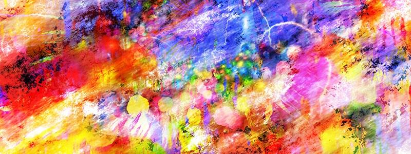 Ombrage avec des crayons de couleur